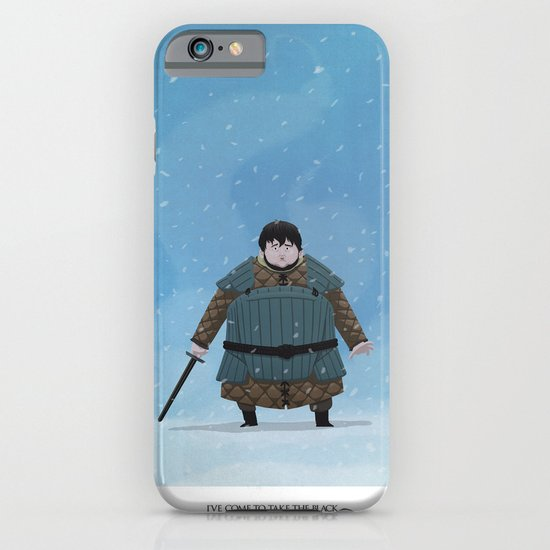 """""""I've come to take the black"""" iPhone & iPod Case"""
