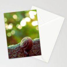 Mini Snail Stationery Cards