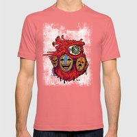 HEaRT Mens Fitted Tee Pomegranate SMALL