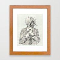The Fly Framed Art Print