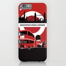 Greetings from London iPhone 6s Slim Case