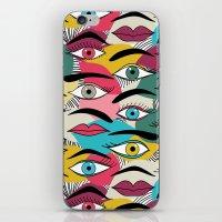 Eye, EyeBrow iPhone & iPod Skin