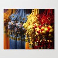 Asian Tassles Canvas Print
