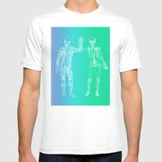 Gimme 5 White Mens Fitted Tee SMALL