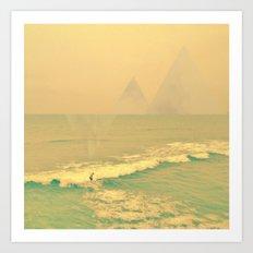 The California Summer Series // Surf Art Print