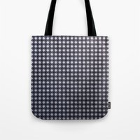 Monochrome Aura - Textur… Tote Bag