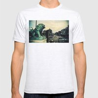 Kyoto temple entrance Mens Fitted Tee Ash Grey SMALL