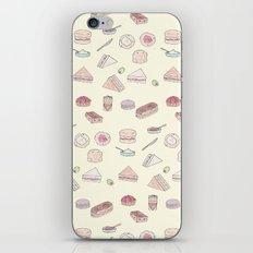 Cream Tea iPhone & iPod Skin