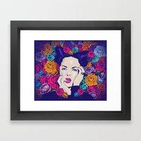Just Shirley Framed Art Print