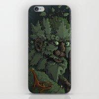 Green Man iPhone & iPod Skin