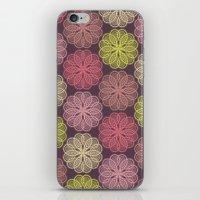PAISLEYSCOPE Flower iPhone & iPod Skin