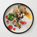 The pursuit of human soul Wall Clock