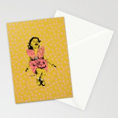 Jump Rope Rhyme Stationery Cards