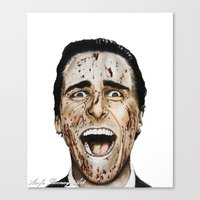 COLOURED PSYCHO Canvas Print