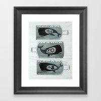 Whale In A Bottle | Trip… Framed Art Print