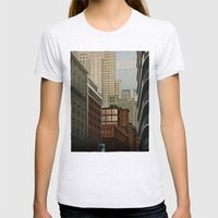Labyrinth Womens Fitted Tee Ash Grey SMALL