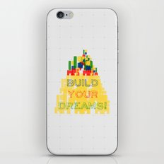 Build your dreams! iPhone & iPod Skin