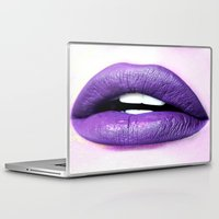 lips Laptop & iPad Skins featuring Lips by TheWank