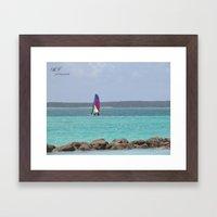 CocaCay Framed Art Print