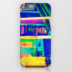 Industrial Abstract Blue iPhone 6s Slim Case