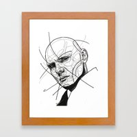 Billy Corgan Framed Art Print