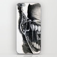 Alien Face. iPhone & iPod Skin