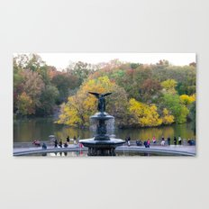 Central Park Fall Series 9 Canvas Print