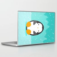 penguin Laptop & iPad Skins featuring Penguin by eDrawings38