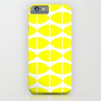 iPhone & iPod Case featuring Lemons Pattern by Stoflab