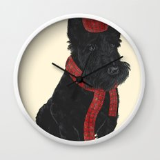 Scottie Wall Clock