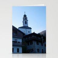 Italian Mountain Village… Stationery Cards