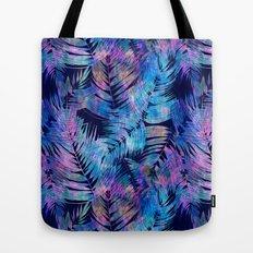 Waikiki Tropic {Blue} Tote Bag