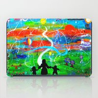 REACHING FOR THE STARS iPad Case