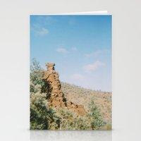 stone field Stationery Cards