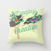 Deeply Creative Throw Pillow