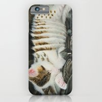 iPhone & iPod Case featuring Sleeping Accordion by MARIA BOZINA - PRINT