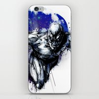 Silver Surfer iPhone & iPod Skin