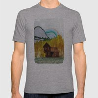 Landscapes / Nr. 3 Mens Fitted Tee Athletic Grey SMALL