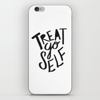 Treat Yo Self iPhone & iPod Skin