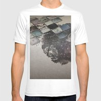 Pattern2 Mens Fitted Tee White SMALL