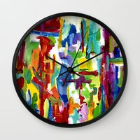 There Is Less To Say Wall Clock