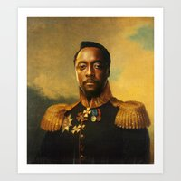 Will.i.am - Replaceface Art Print