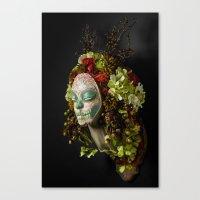 Acorn Harvest Muertita Canvas Print