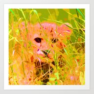 Cheetah 2014-0830 Art Print