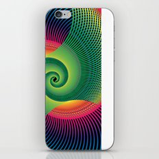 Double Spiral  iPhone & iPod Skin
