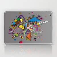 Colored Doodle Laptop & iPad Skin