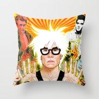 Icon (Warhol) Throw Pillow