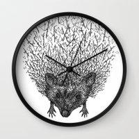 Thorny hedgehog Wall Clock