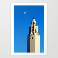 Spanish Tower Art Print