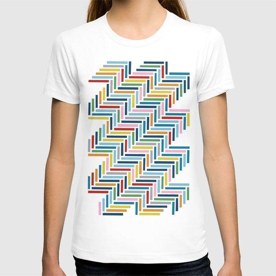 Herringbone 45 Colour T-shirt